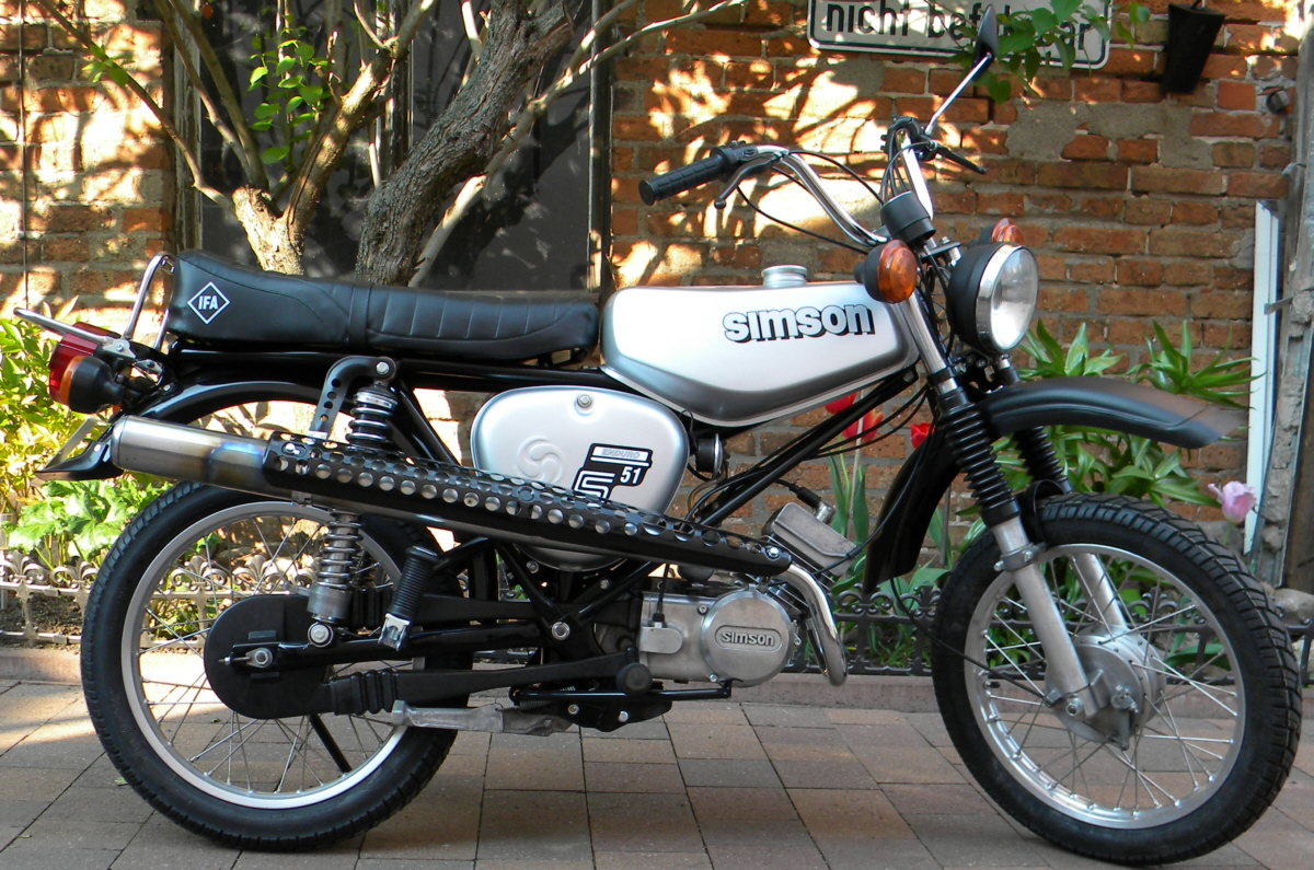 simson s51 b1 4 enduro 1981 50ccm 60 km h restauriert. Black Bedroom Furniture Sets. Home Design Ideas